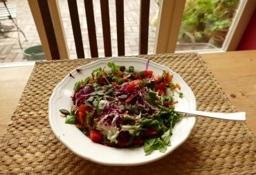Wildkräuter-Herbstsalate